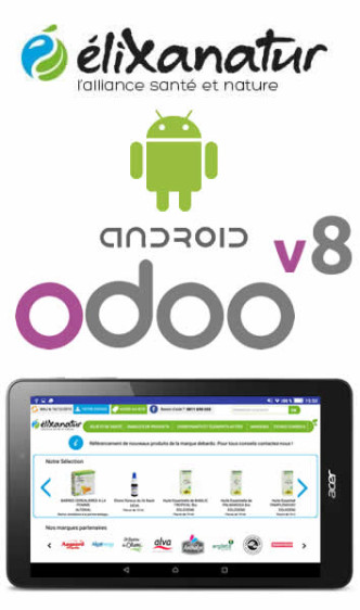 Application tablette java android pour odoo